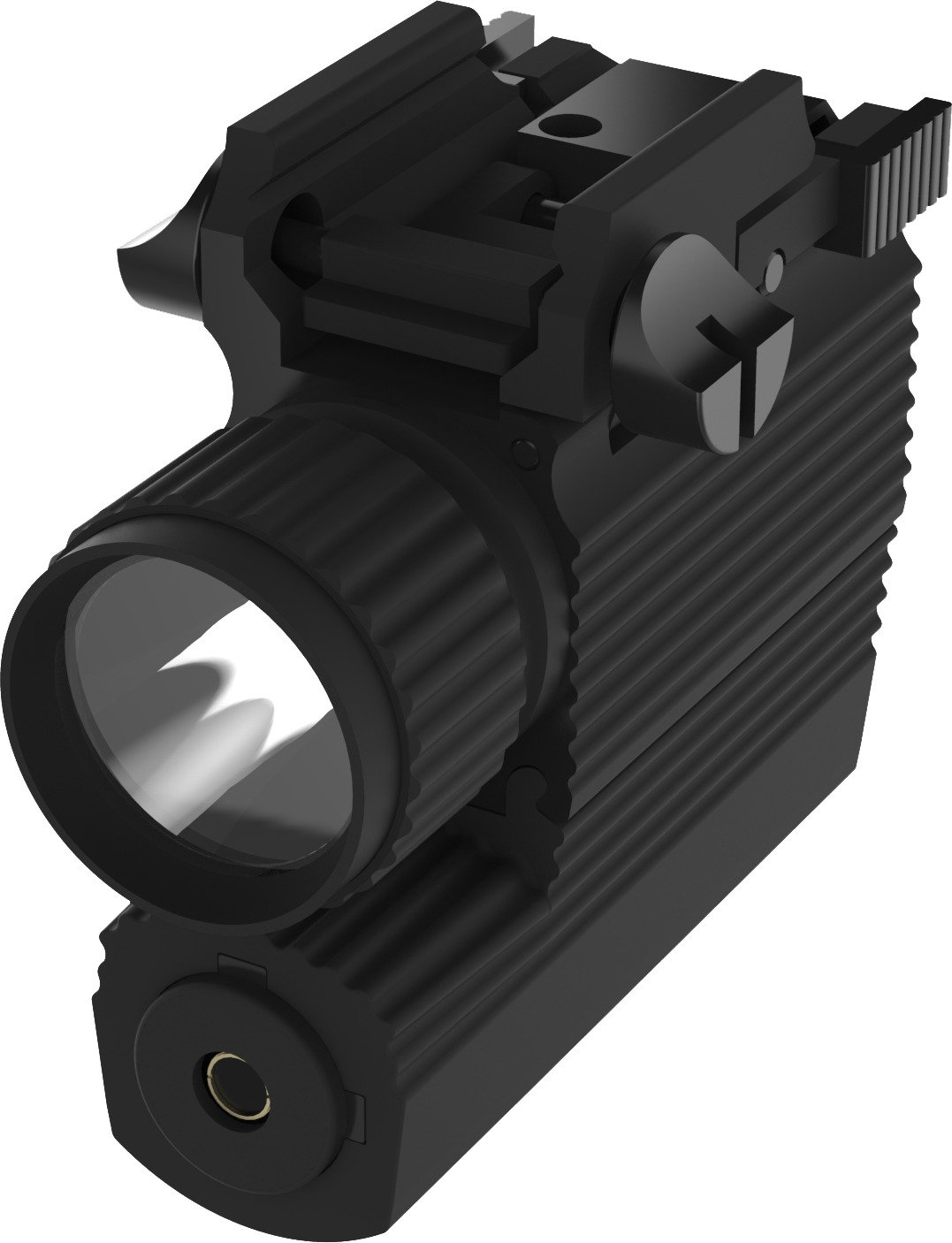 iProtec 190 Lumen Firearm Light with Green Laser - view number 2