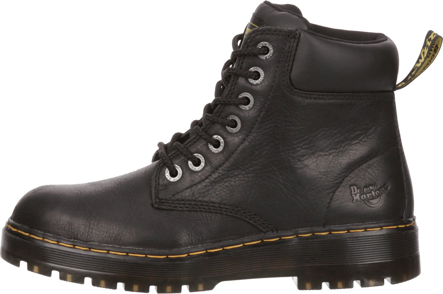587ff460a07 Dr. Martens Men's Trade Winch EH Steel Toe Lace Up Work Boots