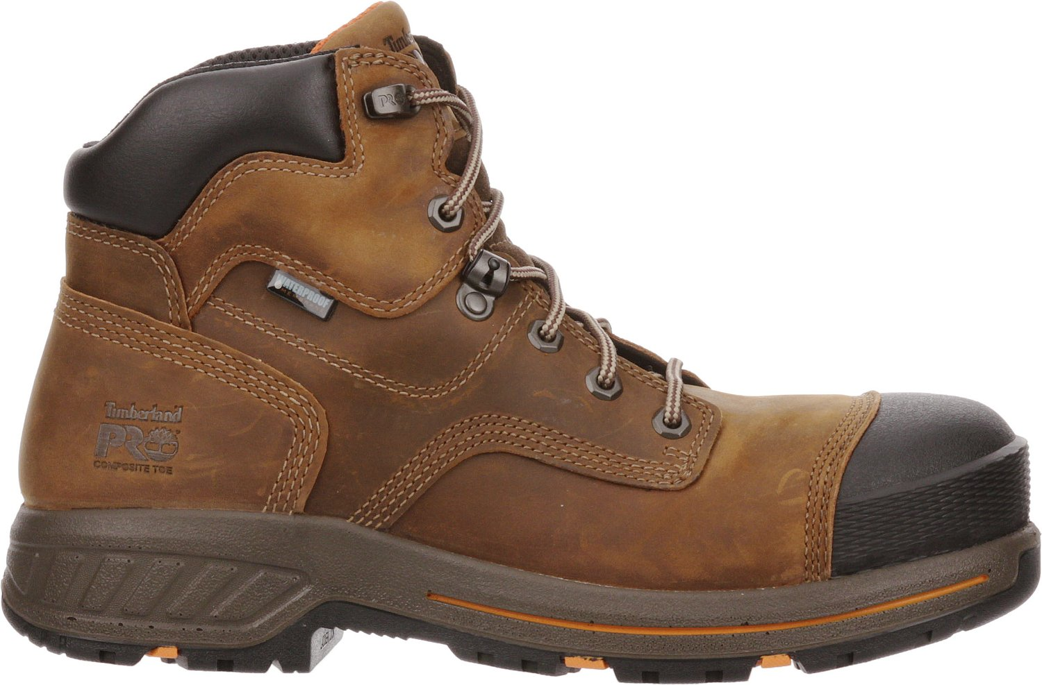 e3e3652e017 Timberland Men's PRO Helix HD 6 in EH Steel Lace Up Work Boots