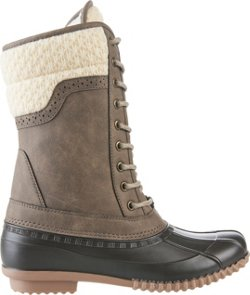 Magellan Outdoors Women's Sweater Collar Duck Boots