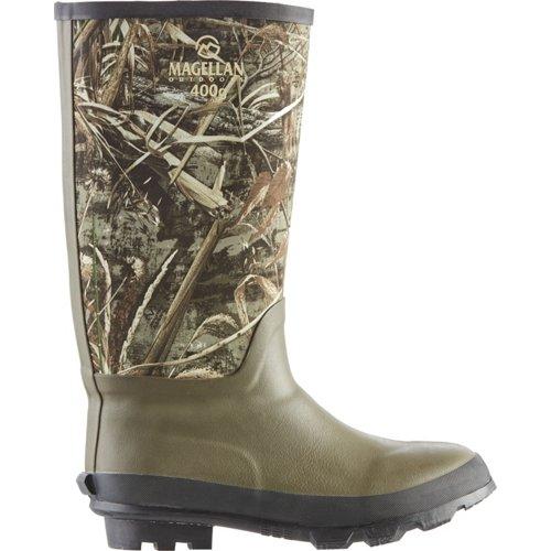Magellan Outdoors Men's Camo Jersey Knee Boot III Hunting Boots