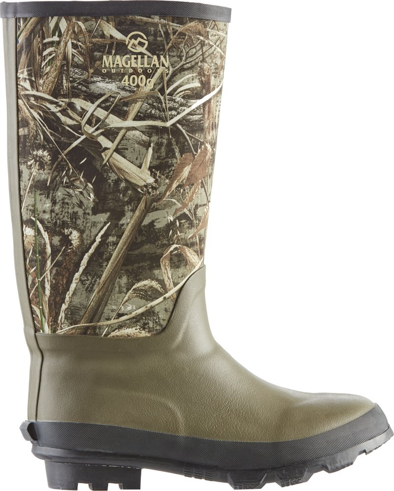 Magellan Outdoors Men's Camo Jersey Knee Boot III Hunting Boots (, Size 12) - Insulated Rubber at Academy Sports thumbnail