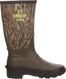 Magellan Outdoors Boys' Camo Jersey Knee Boot III Hunting Boots