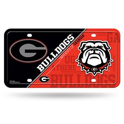 Rico University of Georgia Metal Auto Tag