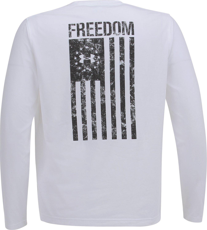 85b05e35 Under Armour Men's Freedom Flag Long Sleeve T-shirt | Academy