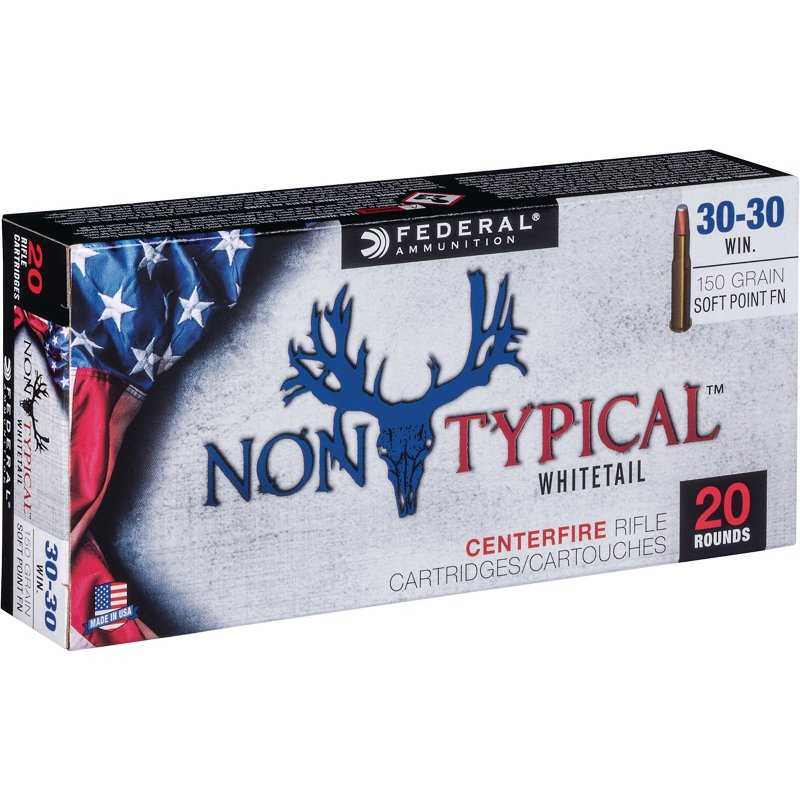 Federal Premium .30-30 Win 150-Grain Nontypical Rifle Ammunition – Rifle Shells at Academy Sports