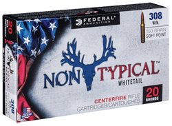 Federal Premium .308 Win 150-Grain Nontypical Rifle Ammunition