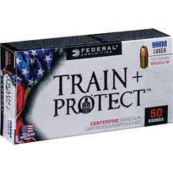 Train & Protect 9mm Luger 115-Grain Pistol Ammunition