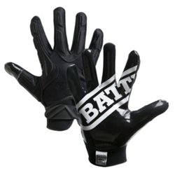 Battle Adults' Hybrid Receiver Football Gloves
