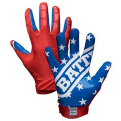 Battle Adults' American Flag Football Gloves