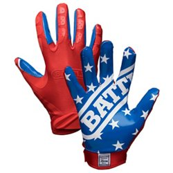Battle Youth American Flag Football Gloves