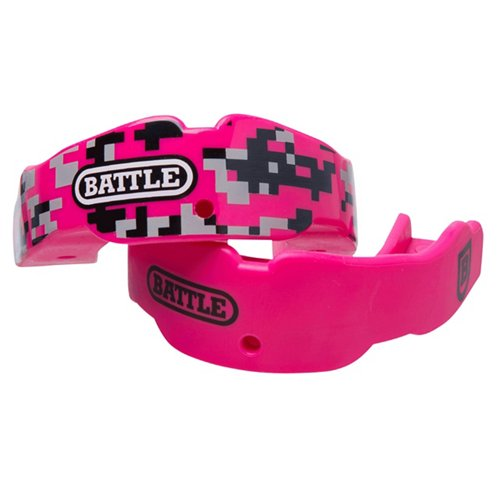 Battle Adults' Camo Mouth Guards 2-Pack