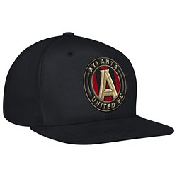 adidas Men's Atlanta United FC Authentic Flat Brim Snapback Cap