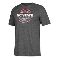 adidas Men's North Carolina State University Iced Out Short Sleeve Basketball T-shirt