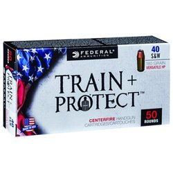 Train & Protect .40 S&W 180-Grain Pistol Ammunition