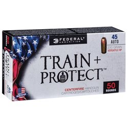 Train & Protect .45 ACP 230-Grain Pistol Ammunition