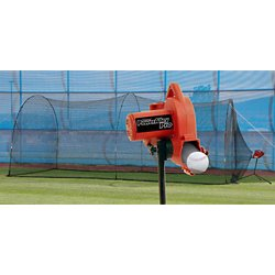 PowerAlley Pro Real Baseball Pitching Machine and Batting Cage