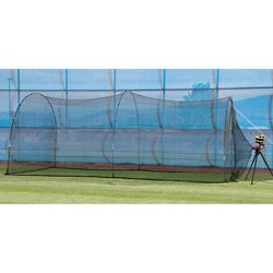 Slider Lite-Ball Pitching Machine and PowerAlley Batting Cage