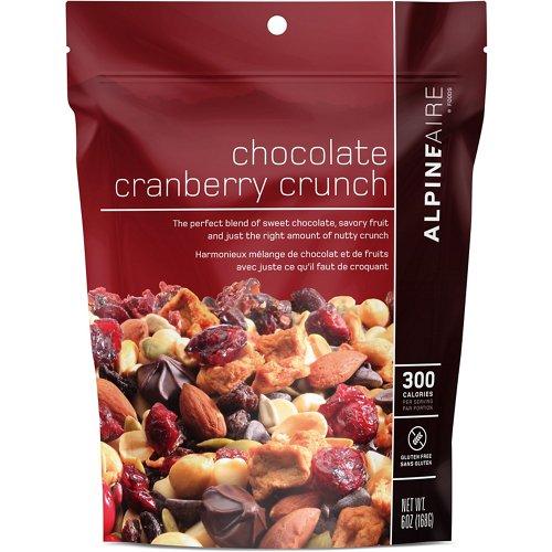 Katadyn Alpine Aire Foods Chocolate Cranberry Crunch 6 oz Snack Mix