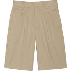Boys' Pleated Adjustable Waist Short