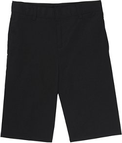 Boys' Flat Front Adjustable Waist Short