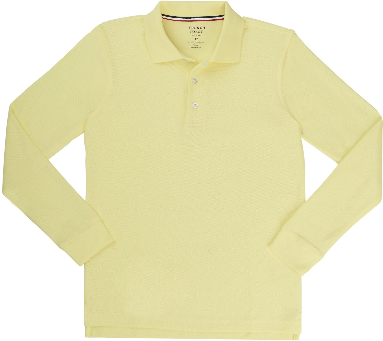 3b2d9a42bb Display product reviews for French Toast Boys  Long Sleeve Pique Polo Shirt