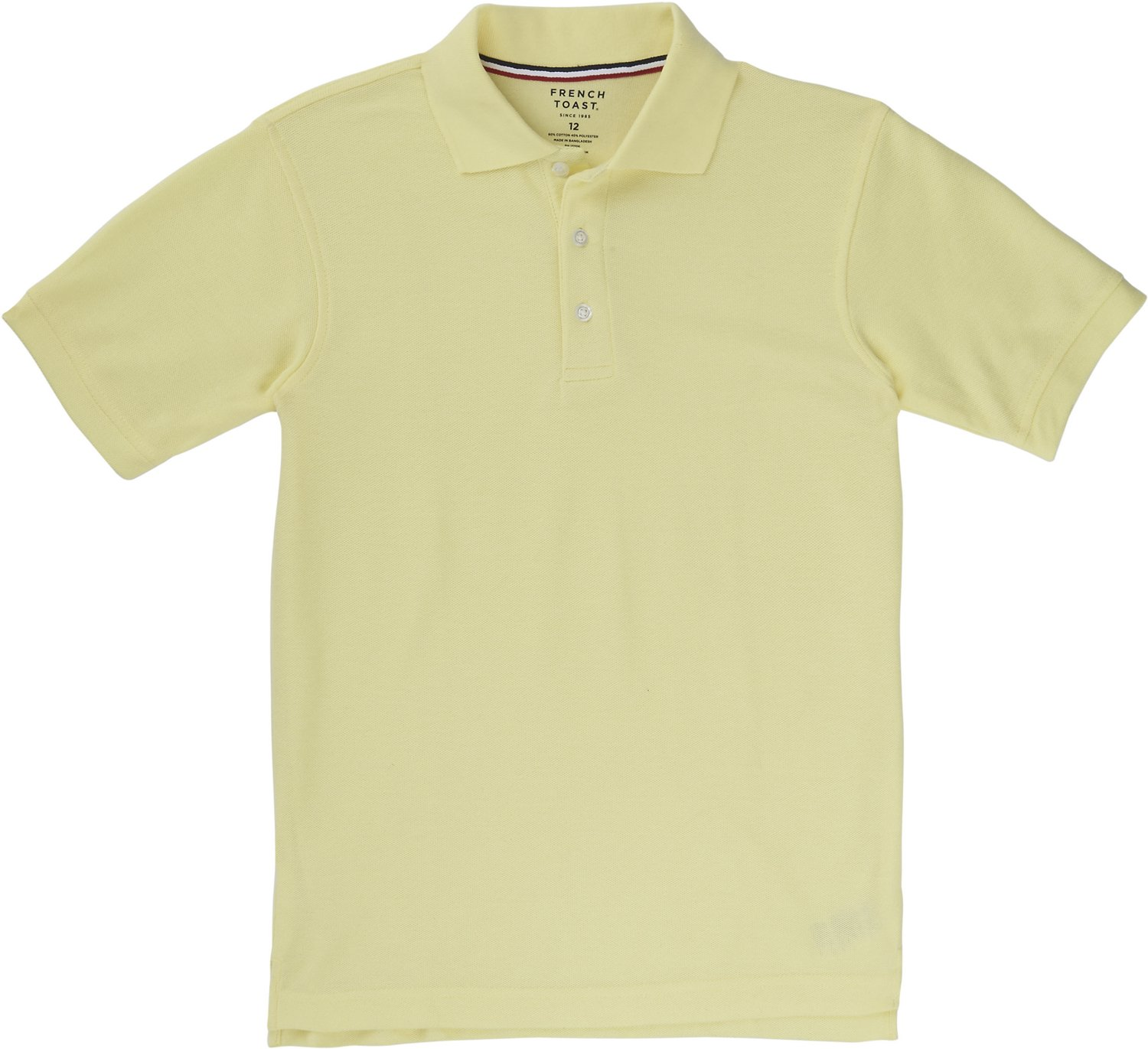 Display product reviews for French Toast Boys  Short Sleeve Pique Polo Shirt  This ... c00a4e36d