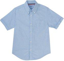 French Toast Toddler Boys' Short Sleeve Oxford Shirt
