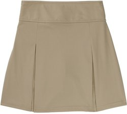 French Toast Girls' Kick Pleat Scooter Skirt