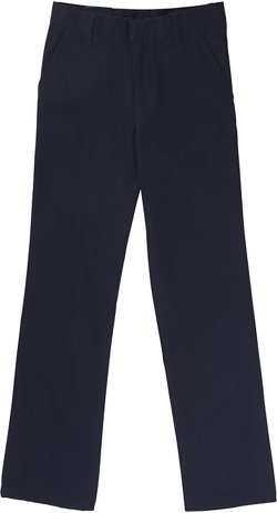 French Toast Boys' Slim Adjustable Waist Double Knee Pants