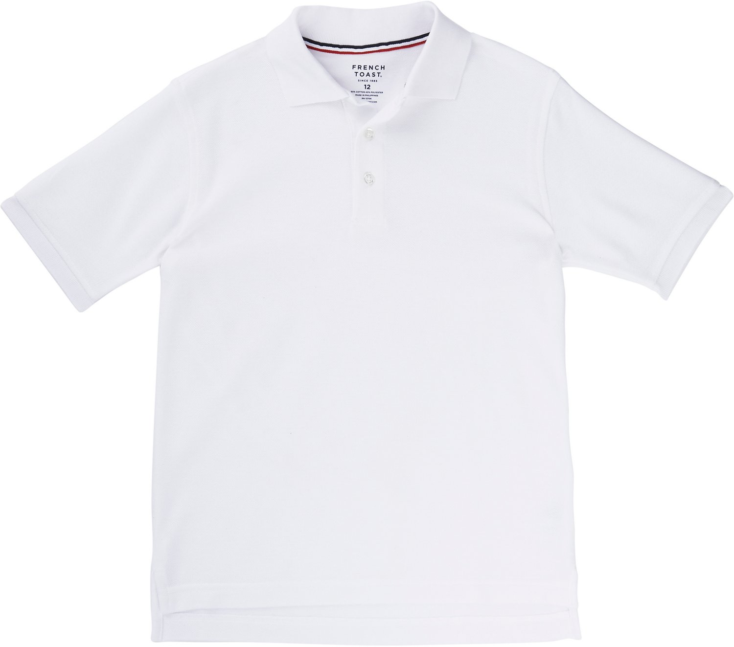 ed634cb4 Display product reviews for French Toast Toddler Boys' Short Sleeve Pique Polo  Shirt