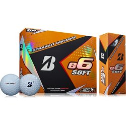 e6 Soft Golf Balls 12-Pack