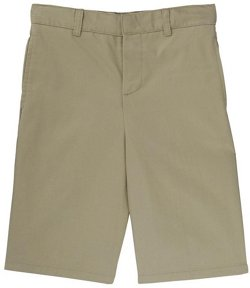 Boys' Flat Front Adjustable Waistline Short