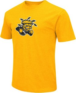 Colosseum Athletics Men's Wichita State University Logo Short Sleeve T-shirt