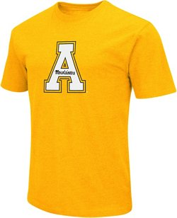 Colosseum Athletics Men's Appalachian State University Logo Short Sleeve T-shirt