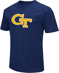 Colosseum Athletics Men's Georgia Tech Logo Short Sleeve T-shirt