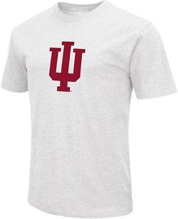 Colosseum Athletics Men's Indiana University Logo Short Sleeve T-shirt