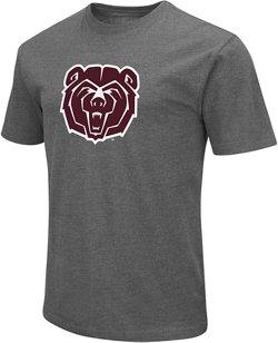 Colosseum Athletics Men's Missouri State University Logo Short Sleeve T-shirt