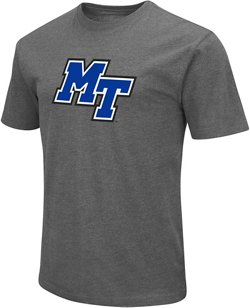 Colosseum Athletics Men's Middle Tennessee State University Logo Short Sleeve T-shirt