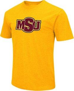 Colosseum Athletics Men's Midwestern State University Logo Short Sleeve T-shirt