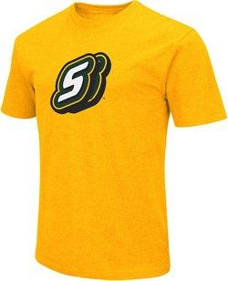 Colosseum Athletics Men's Southeastern Louisiana University Logo Short Sleeve T-shirt