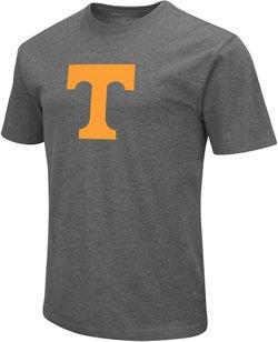 Colosseum Athletics Men's University of Tennessee Logo Short Sleeve T-shirt