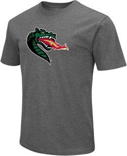 Colosseum Athletics Men's University of Alabama at Birmingham Logo Short Sleeve T-shirt