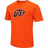 Colosseum Athletics Men's University of Texas at El Paso Logo Short Sleeve T-shirt