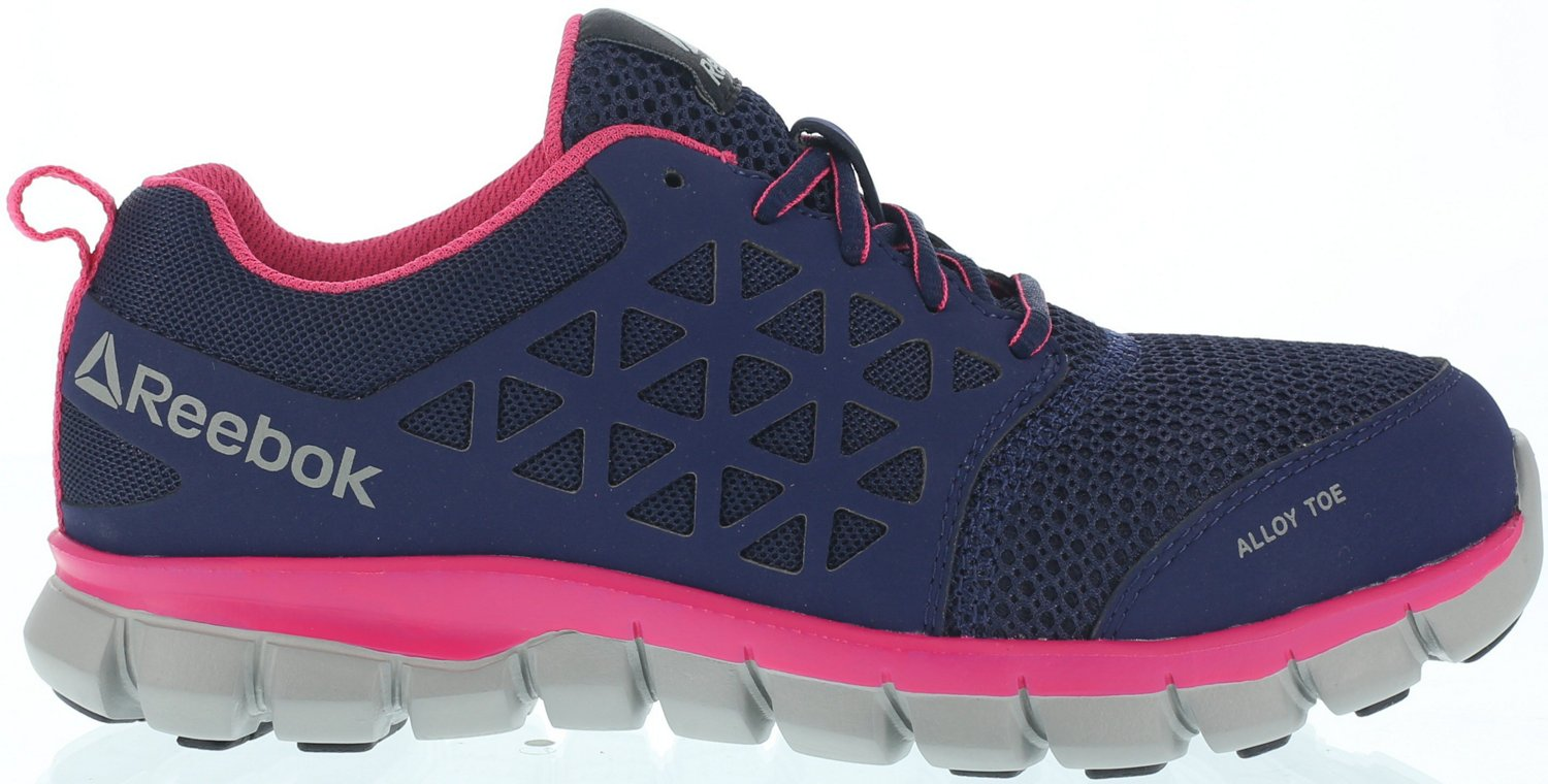 019d785cd1f8b Display product reviews for Reebok Women's Sublite Cushion Alloy Toe Work  Shoes