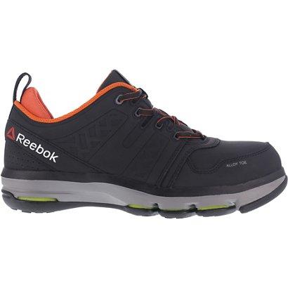 93222c40dbd4b9 ... Reebok Men s DMX Flex EH Alloy Toe Work Shoes. Steel Toe Boots.  Hover Click to enlarge