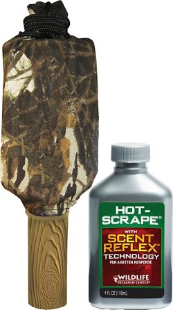 Wildlife Research Center Super Charged Dripper and Hot Scrape Deer Scent Set