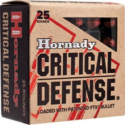 Critical Defense® 9 mm Luger 115-Grain Handgun Ammunition