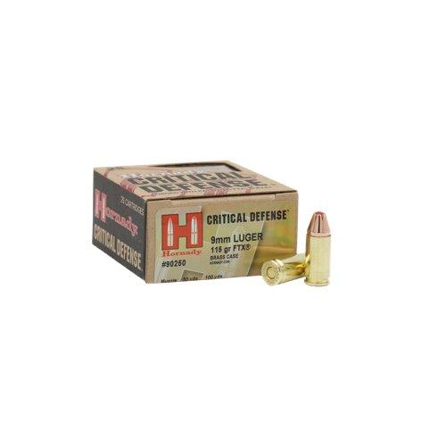 Hornady Critical Defense® 9 mm Luger 115-Grain Handgun Ammunition