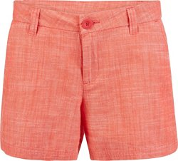 BCG Women's Roughin' It Chambray Shorty Short